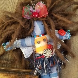 Unique Textile Rag Doll